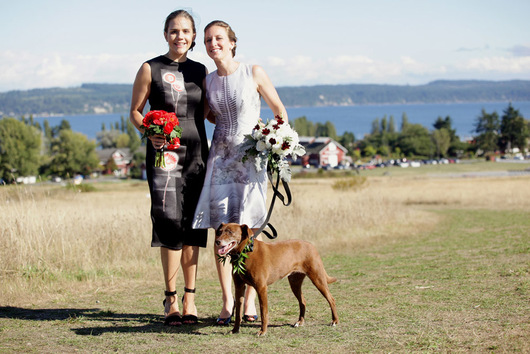 The Quintessa on Whidbey Island love forever dog together